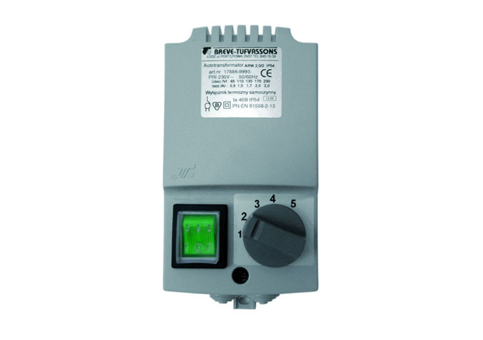 TR - 5-stepenski regulator brzine ventilatora (1,5A)