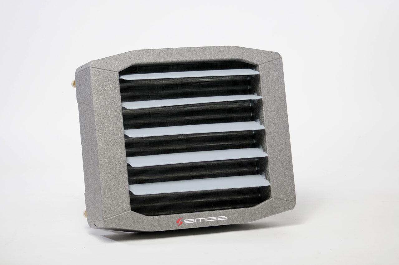 Toplovodni kalorifer sa kućistem od EPP 01